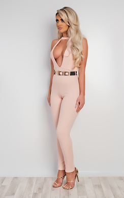 View the Arden Belted Jumpsuit online at iKrush