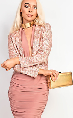 View the Zaria Shimmer Blazer online at iKrush