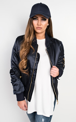 View the Kylie Bomber Jacket online at iKrush