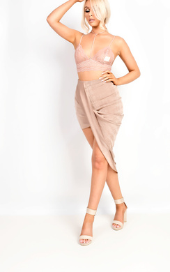 View the Mya Gathered Skirt online at iKrush
