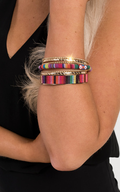 View the Collette Bangle Set online at iKrush