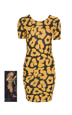 View the Jenna Bold Print Bodycon Dress online at iKrush