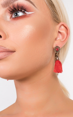 View the Valenciaga Tassel Jewel Earrings  online at iKrush
