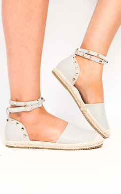 View the Alia Studded Espadrilles online at iKrush
