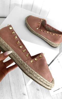 View the Leena Studded Espadrilles online at iKrush