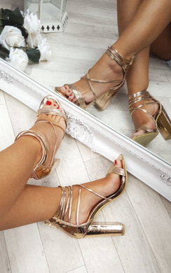 View the Marissa Strappy Block Heels online at iKrush