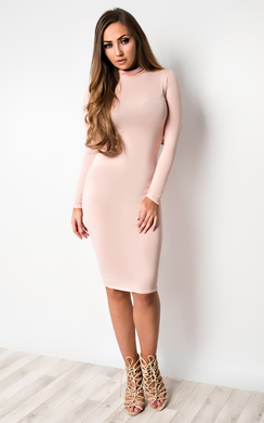 View the Eliora Basic Bodycon Dress online at iKrush