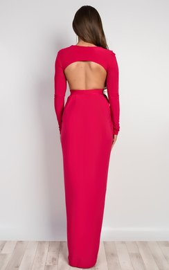 View the Mitra Bodycon Maxi Dress online at iKrush