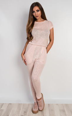 View the Evangelina Knitted Jumpsuit online at iKrush