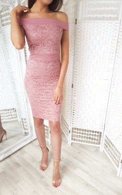 View the Jasmin Lace Midi Dress online at iKrush