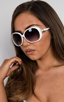 View the Roxana Bow Detail Sunglasses online at iKrush