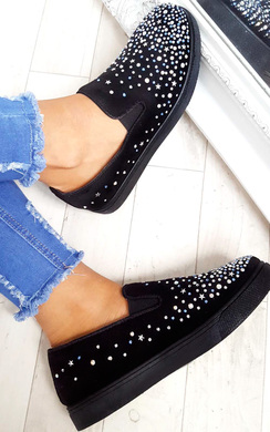 View the Mel Star Stud Detail Trainers online at iKrush