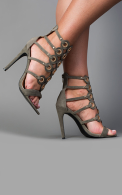 View the Brooklyn Circle Detail High Heels online at iKrush