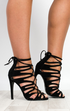 View the Saharra Cut-Out High Heels online at iKrush
