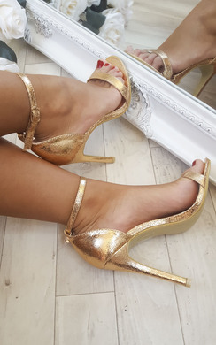 View the Kristie Foiled High Heels  online at iKrush