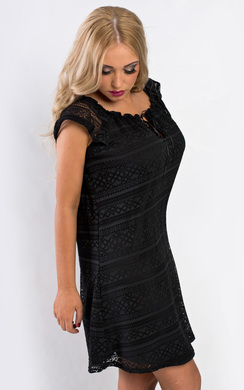View the Holly Lace Shift Dress online at iKrush