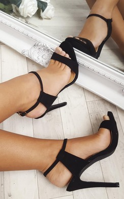 View the Xtina Strappy High Heels  online at iKrush
