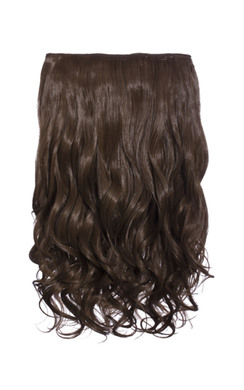 View the Intense Volume Clip In Hair Extensions - Curly Chestnut online at iKrush
