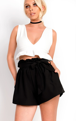 View the Zaria Frill Crop Top  online at iKrush