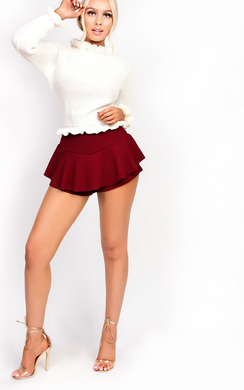 View the Klaris Short Frill Shorts  online at iKrush