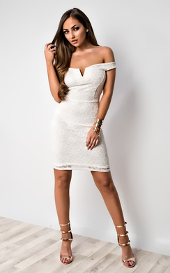 View the Danica Lace Party Dress online at iKrush