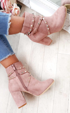 View the Mabel Studded Ankle Boots  online at iKrush
