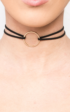 View the Elisa Ring Choker  online at iKrush