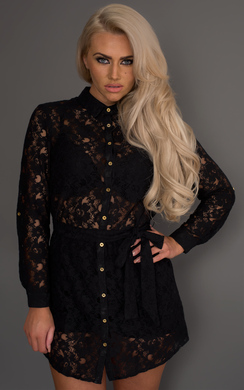 View the Campbell Lace Shirt online at iKrush
