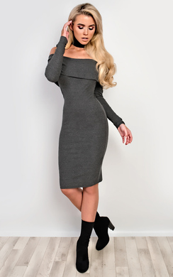 View the Caitlyn Off Shoulder Bodycon Dress online at iKrush