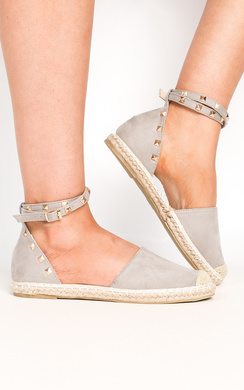 View the Kaydence Studded Espadrilles online at iKrush