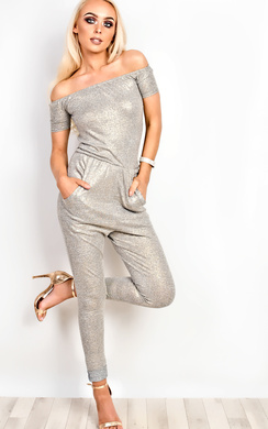 View the Christa Off Shoulder Jumpsuit online at iKrush
