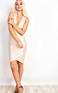 View the Camilla Bandage Bodycon Dress  online at iKrush