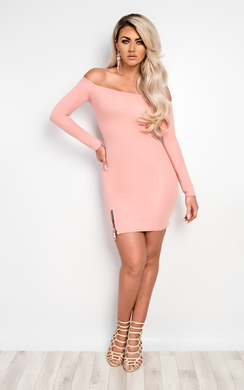View the Kellen Off Shoulder Bodycon Dress online at iKrush