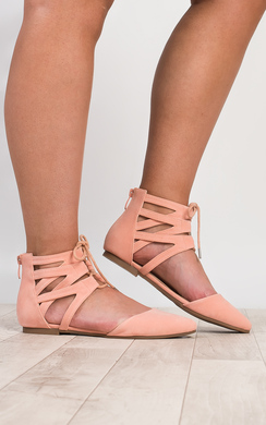 View the Melrose Lace-Up Sandals online at iKrush