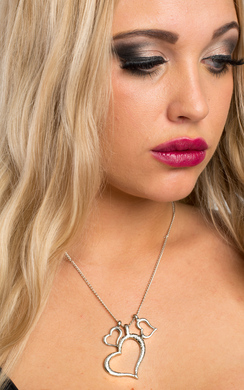 View the Heavenly Heart Necklace online at iKrush