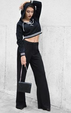 View the Laetita Lace Up Cropped Jumper online at iKrush