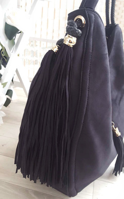 View the Leah Fringed Slouch Handbag online at iKrush