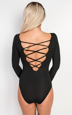 View the Orabelle Lattice Bodysuit  online at iKrush