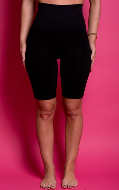 View the Bayleigh Control High Waisted Shorts online at iKrush