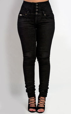 View the Anneli High Waisted Skinny Jeans online at iKrush
