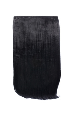 View the Intense Volume Clip In Hair Extensions - Flicky Jet Black  online at iKrush