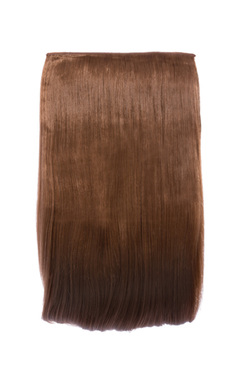 View the Intense Volume Clip In Hair Extensions - Flicky Golden Brown  online at iKrush