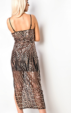 View the Estrella Embellished Maxi Dress online at iKrush