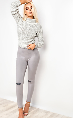 View the Lucie Cropped Jumper online at iKrush