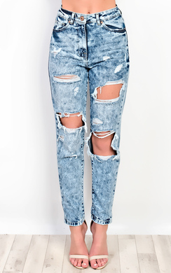 View the Trinity Ripped Jeans online at iKrush