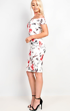 View the Roxy Floral Midi Dress online at iKrush