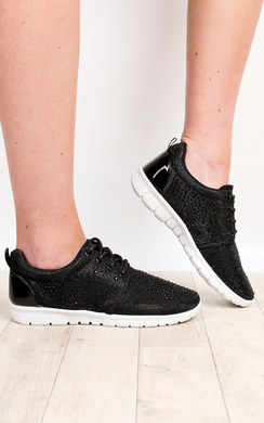View the Mitzi Diamante Trainers online at iKrush