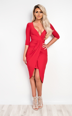 View the Nayara Bodycon Party Dress online at iKrush