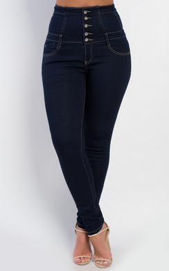 View the Amarli High Waisted Skinny Jeans online at iKrush