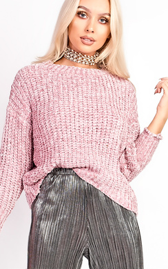 View the Hollie Cable Knit Soft Jumper online at iKrush